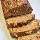 bananenbrood, thermomix, foodsoul, thermomix recepten, gezond brood, banaan, tussendoortje
