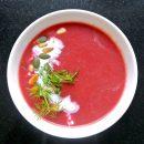 foodsoul, thermomix, rode-bietensoep, rode biet, soep, gember, koolhydraatarm, gezonde recepten, recepten soep, soep maken, wintersoep
