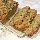 Foodsoul, foodsoul, thermomix, paleo, paleo brood, recepten voor thermomix, brood, zoete aardappel, courgette, amandelmeel
