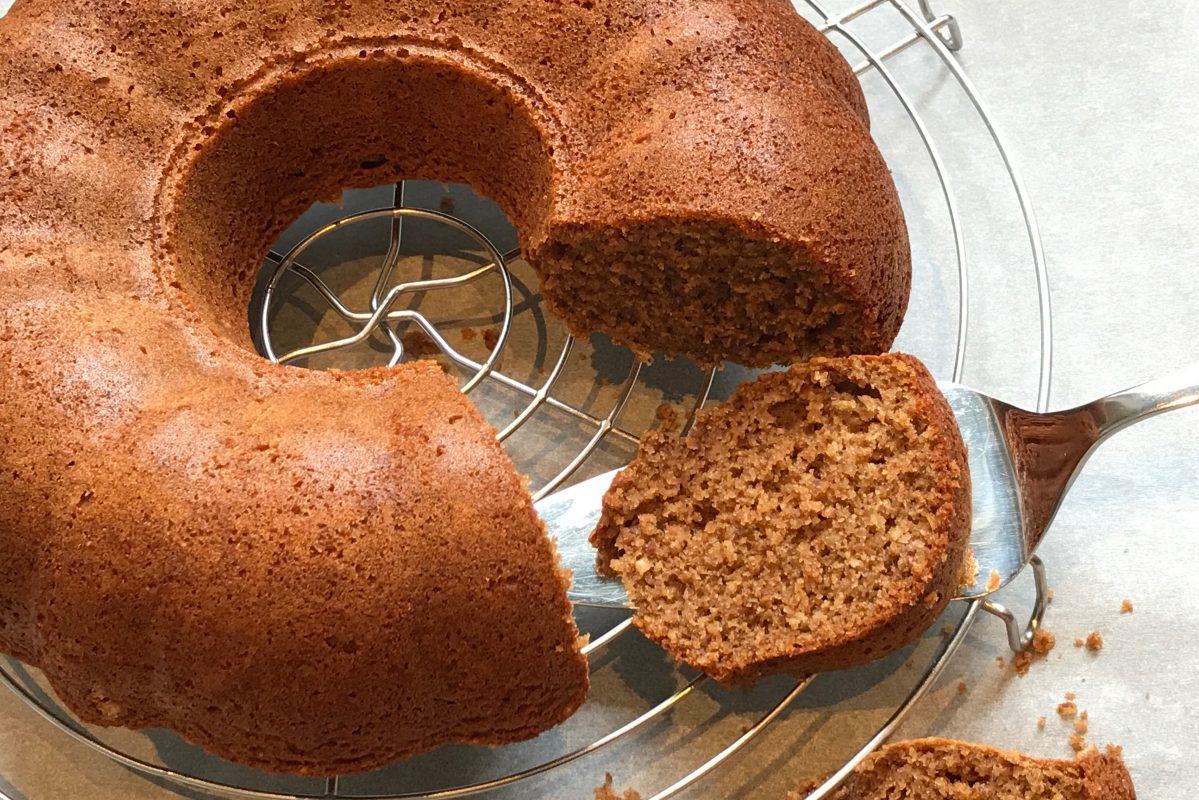 foodsoul, thermomix, tm5, kruidcake, tulband, gember, amandelen, cake, gezonde recepten, thermomixrecepten